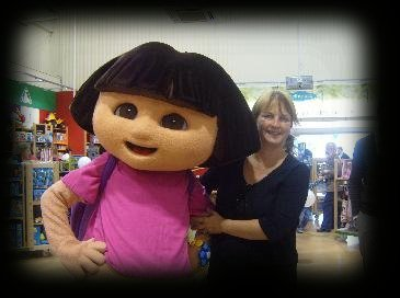 Picture of me with dora